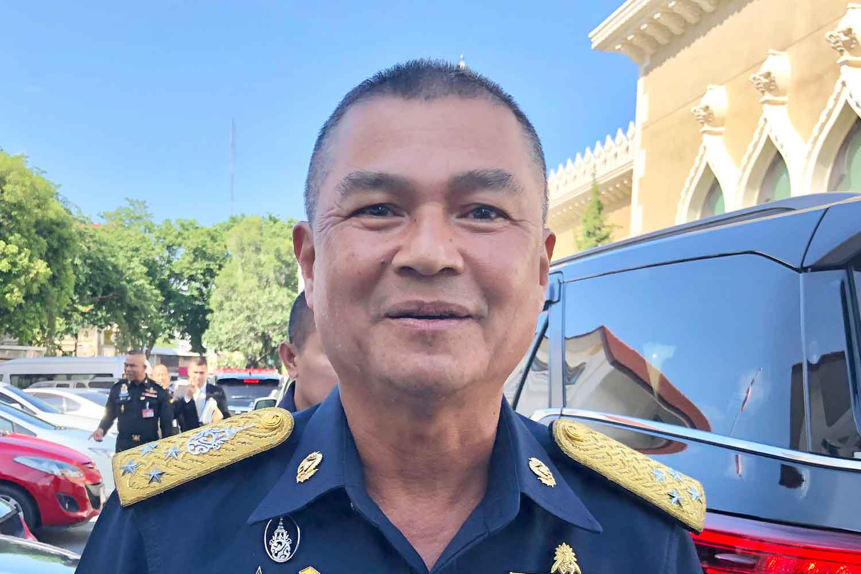 Air force chief ACM Manat Wongwat.