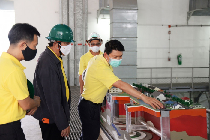 MEA inspects electricity security at Bang Sue Canal drainage tunnel