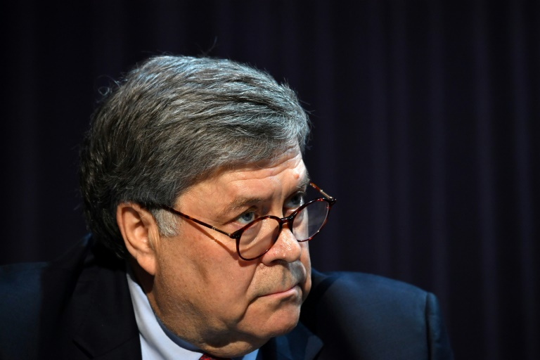 US Attorney General William Barr has accused China of mounting an
