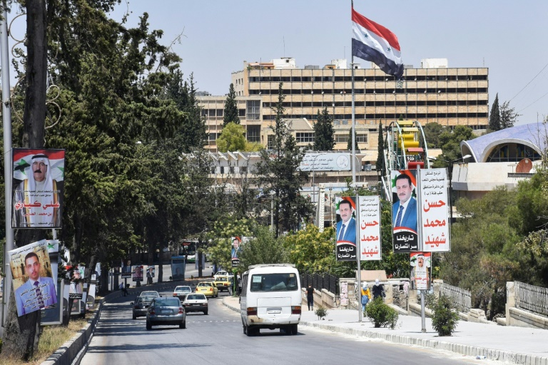 Blasts hit Damascus ahead of parliamentary election