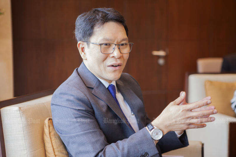 Veerathai Santiprabhob, Bank of Thailand Governor (Bangkok Post file photo)