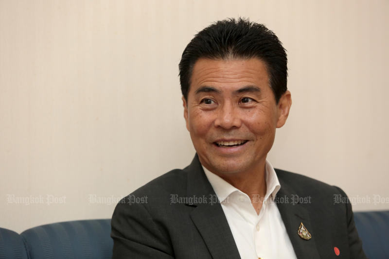 Prime Minister's Office Minister Tewan Liptapanlop will resign to clear the way for a cabinet reshuffle. (Bangkok Post photo)