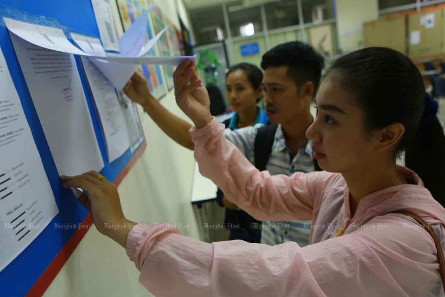 The Federation of Thai Industries expects 8 million people will be unemployed this year.