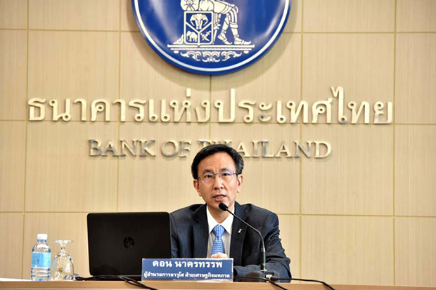 Don Nakornthab, senior director of the economic and policy department at the central bank, says some key indicators in June were more encouraging.