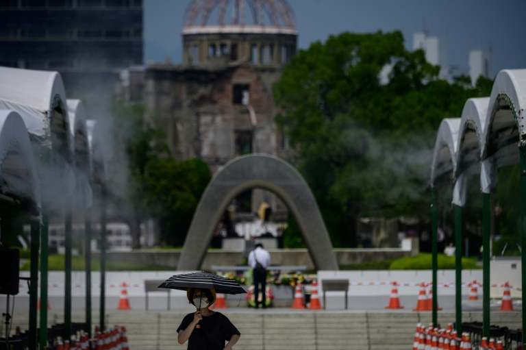 Japan on August 6 marks the 75th anniversary of the nuclear bomb attack on Hiroshima, with the coronavirus forcing a scaled-back ceremony.