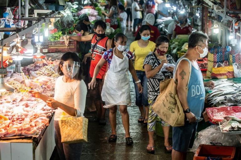 The Philippine economy has been devastated by virus lockdowns.