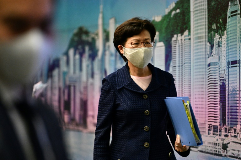 Carrie Lam says will cancel her USA visa over sanction