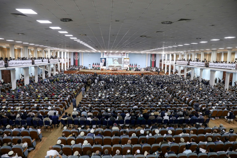A mega gathering of prominent Afghans has approved the release of hundreds of Taliban prisoners.