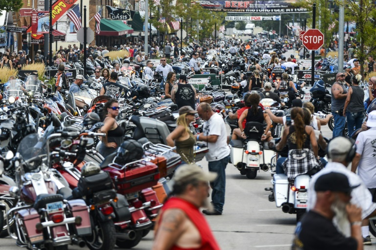 Dozens arrested at Sturgis motorcycle rally