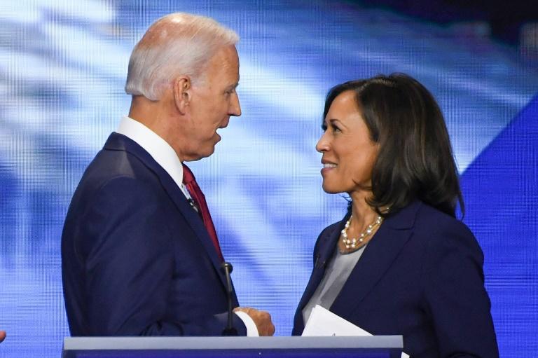 Biden New Running Mate Harris Kick Off White House Campaign