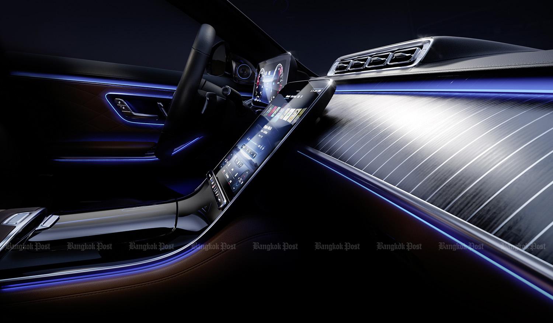 Mercedes-Benz previews interior of new S-Class