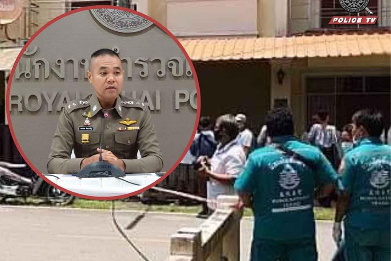 Deputy police spokesman Kissana Phathanacharoen said on Monday that investigation was underway on the murder in Trang province. (Police TV photo)