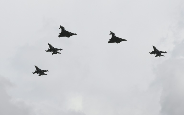 Israeli fighter pilots carry out first joint exercises in Germany