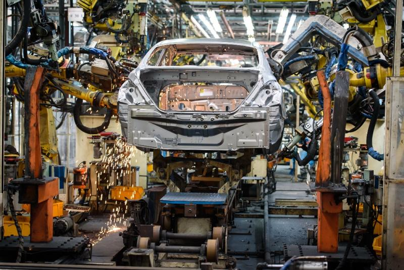 The Nissan plant in Samut Prakan is in focus as Thailand will be the Japanese company's sole car manufacturing base in Asean after the closure of the Indonesian operation. (Nissan Motor Thailand photo)