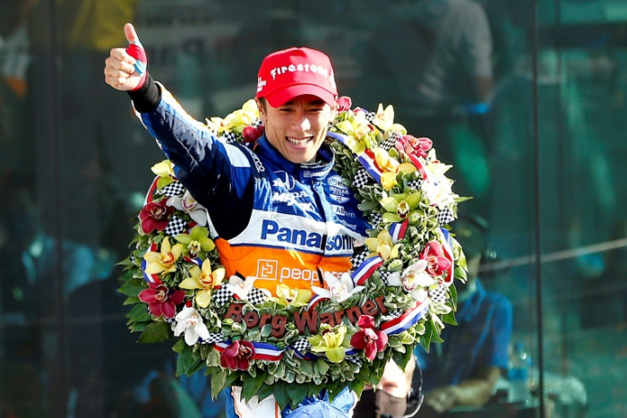 Japan's Sato holds off Kiwi Dixon to win second Indy 500 crown