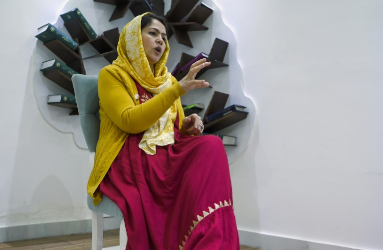 Fawzia Koofi, one of the negotiators and a high-profile women's rights campaigner, says the Taliban 'have to understand they are facing a new Afghanistan'.