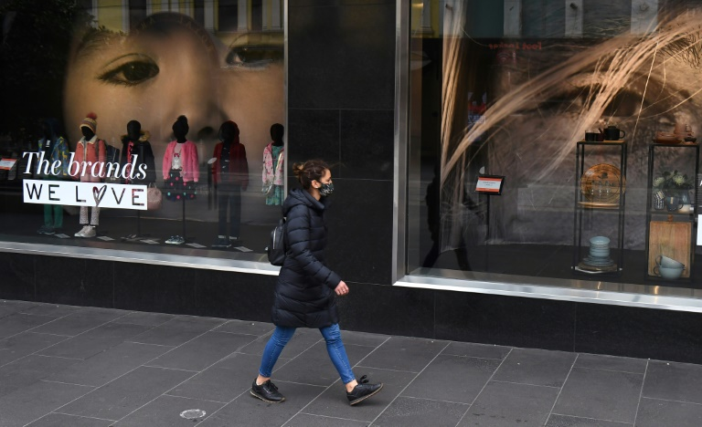 Australia announced a record economic contraction of 7%.