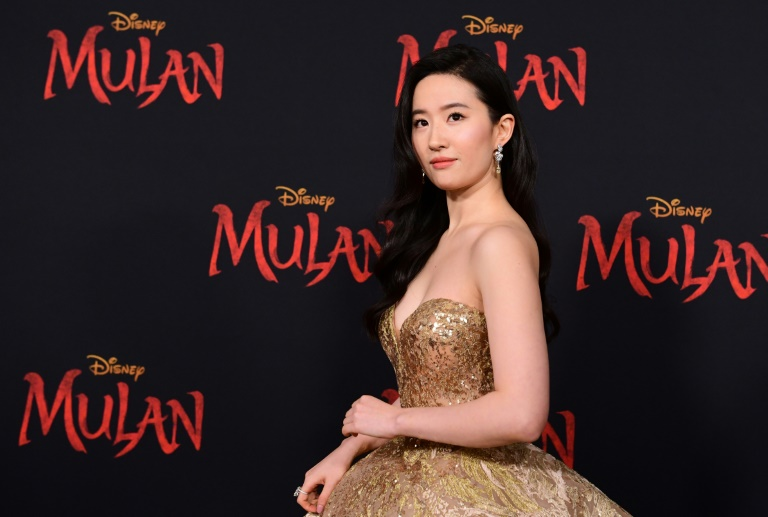 Actress Yifei Liu attends the world premiere of Disney's