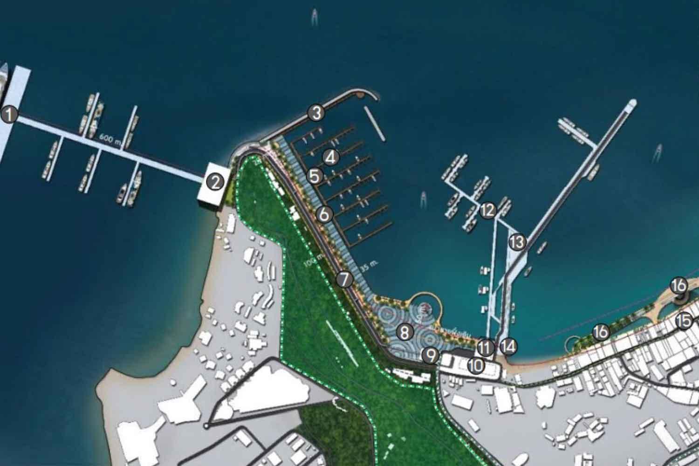 An artist's impression of the planned 2.9 billion baht development.