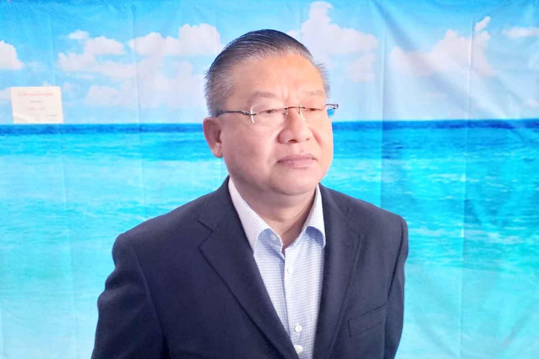 Thani Chuangchu, director of Phuket international airport. (Photo: Achadtaya Chuenniran)