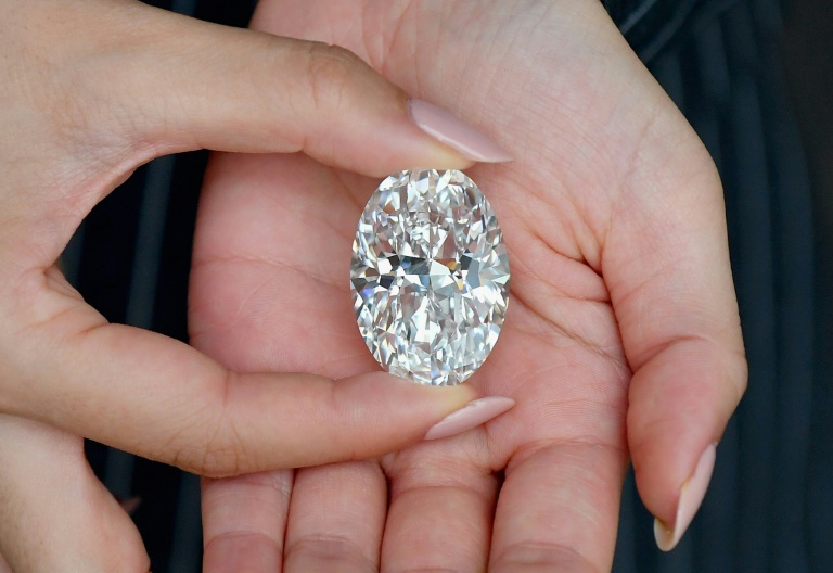 The 102-carat white diamond will go up for auction on October 5, 2020 in Hong Kong