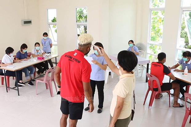 Monday: 2 Thai returnees have Covid