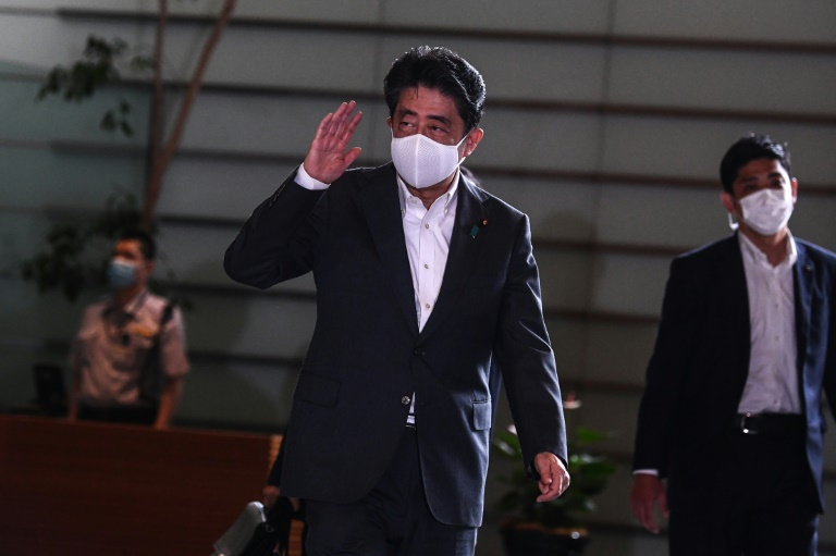 Yoshihide Suga wins party vote for Japan prime minister