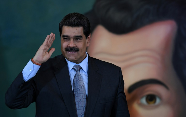 Venezuelan President Nicolas Maduro and top ministers have been accused of possible crimes against humanity by UN investigators. (AFP photo)