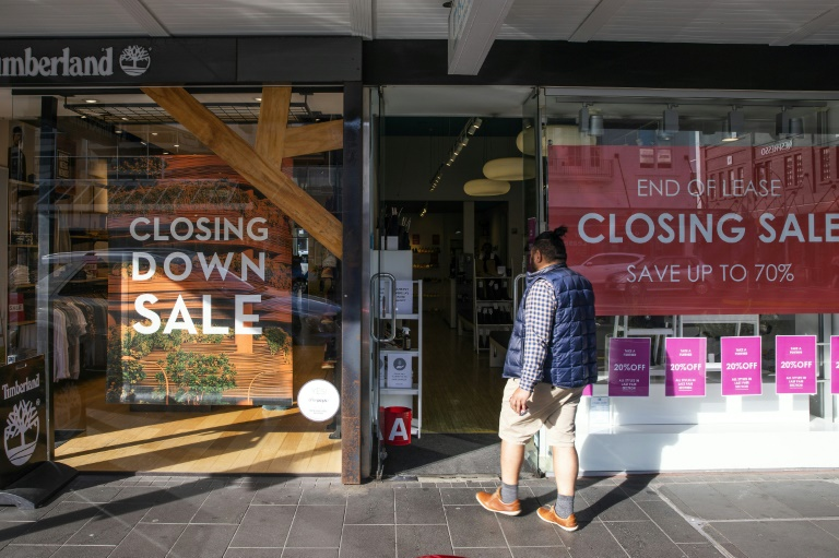 New Zealand's statistics agency said the closure of national borders since March 19 had also had a huge impact of some sectors of the economy
