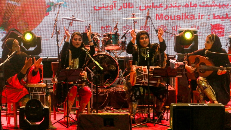 Dingo is an Iranian band made up of four women who play