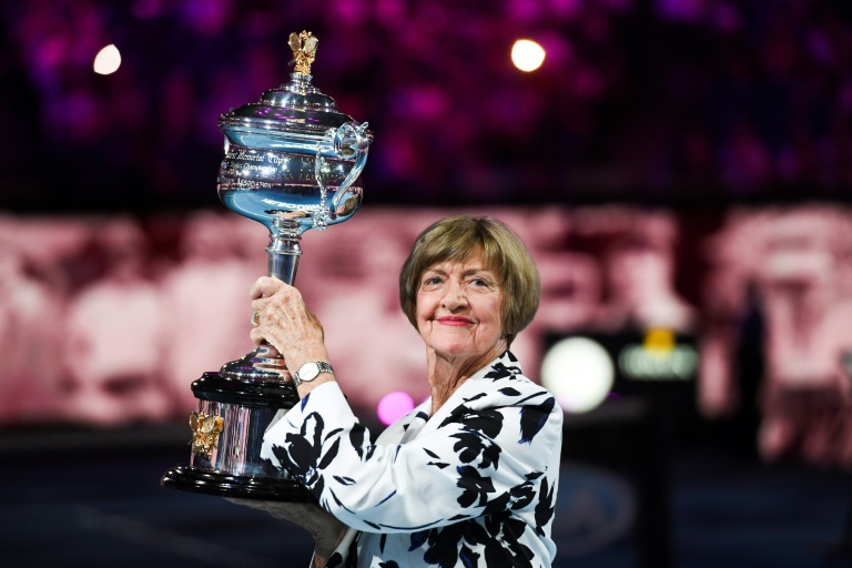 Margaret Court has become a divisive figure at the Australian Open