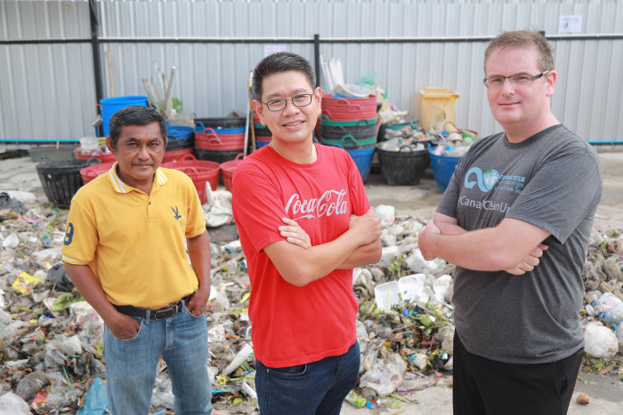 Coca-Cola, TerraCycle and BMA join hands in cleaning up Lat Phrao Canal and promote behavioural change