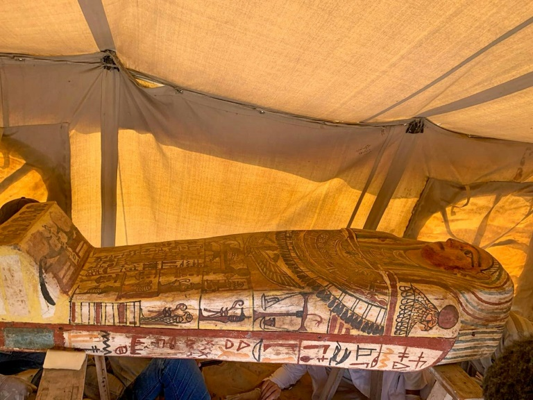 14 ancient tombs discovered at Saqqara