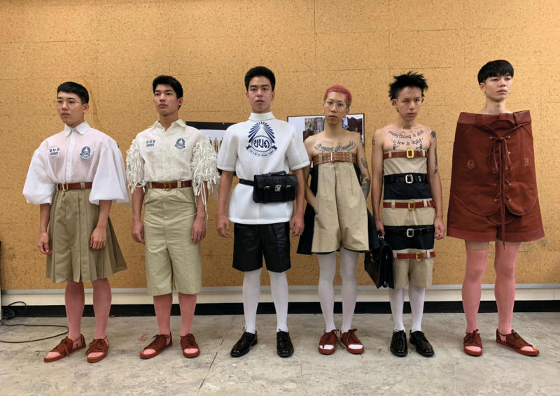 'Rule breaker' school uniforms challenge tradition – for a price