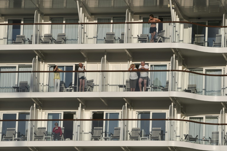 Cruise ship with reported infections docks at Greek port