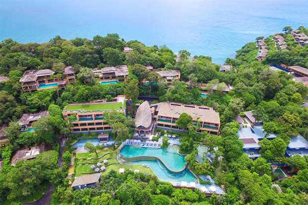 The Sri Panwa resort in Phuket is built legally on private land, according to the provincial governor. (Sri Panwa resort photo)