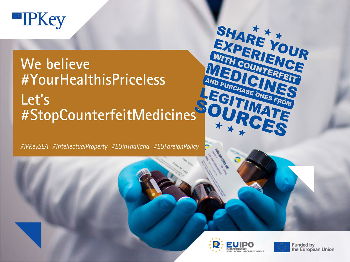 Social media can be a potent weapon against counterfeit medicines and help build awareness among consumers