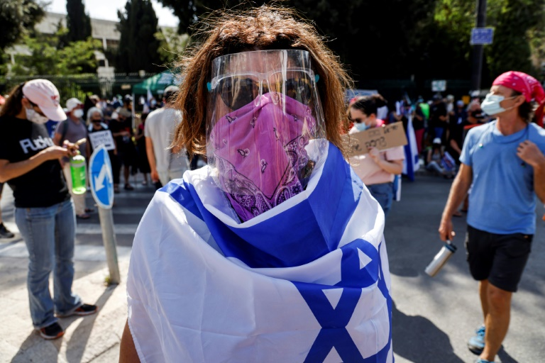 Israel passes law to limit protests during 'virus emergency'