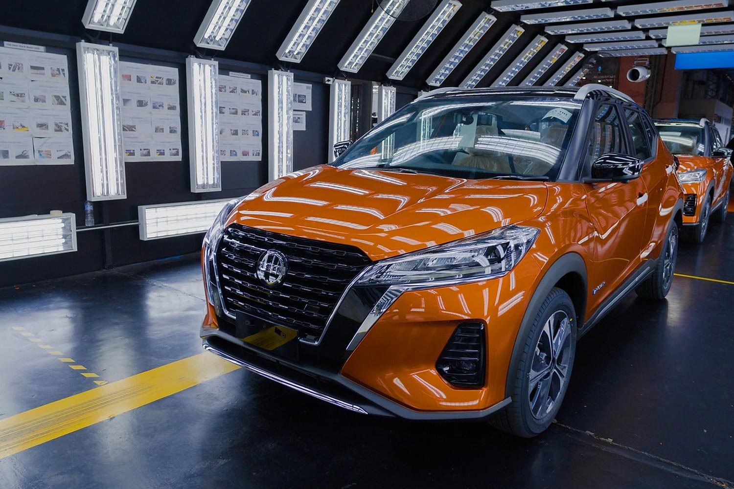 Nissan is expanding its production in Thailand for popular models like the Kicks e-Power SUV.