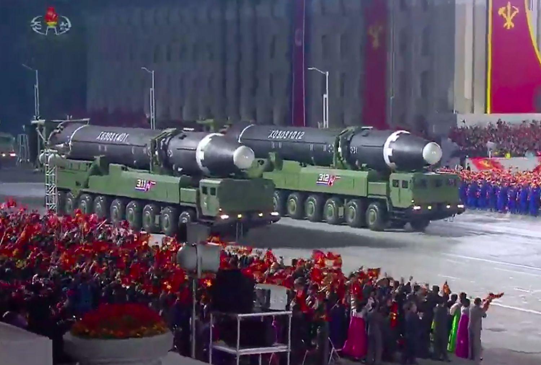North Korea holds anniversary military parade, South Korea says