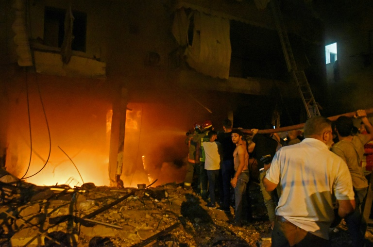 Explosion at fuel depot in Beirut kills 4 people - Lebanese Red Cross
