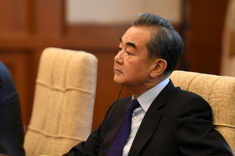 China's Foreign Minister Wang Yi held talks with his Iranian counterpart Javad Zarif, during which he reiterated Beijing's support for Tehran.