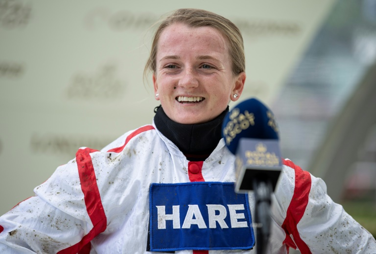 Hollie Doyle is the boss says boyfriend Tom Marquand whilst she says he is the romantic but they shared the riding honours at British Champions Day at Ascot