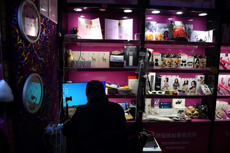 Demand for sex toys is rising in China.