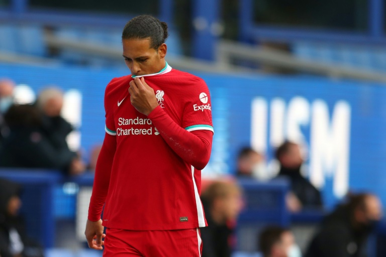 Liverpool's Virgil van Dijk looks set to miss the rest of the season due to a serious knee injury.