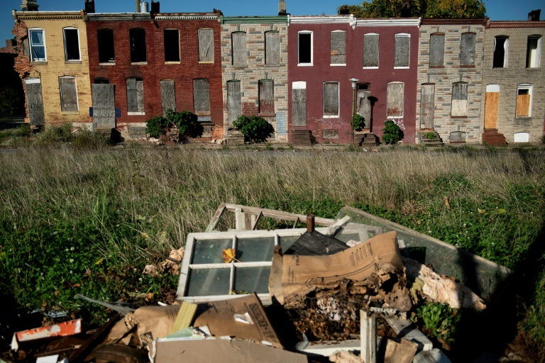 Hopeless in Baltimore, ground zero of US 'urban apartheid'