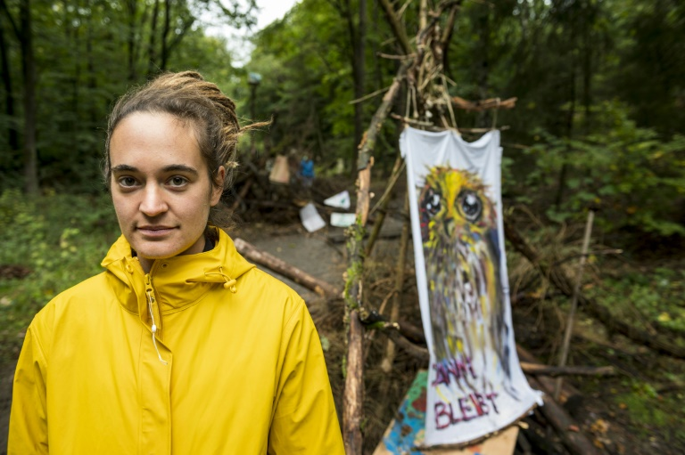 In new German save-the-forest fight, migrant captain centre stage
