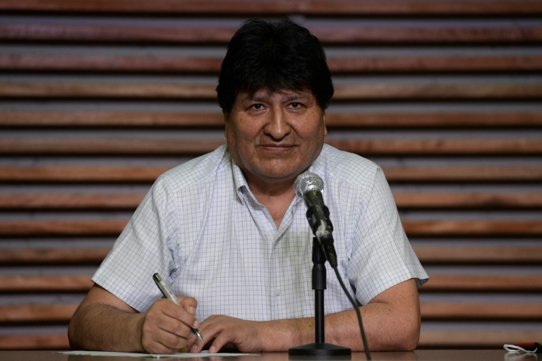 Morales says will return to Bolivia after ally's election victory