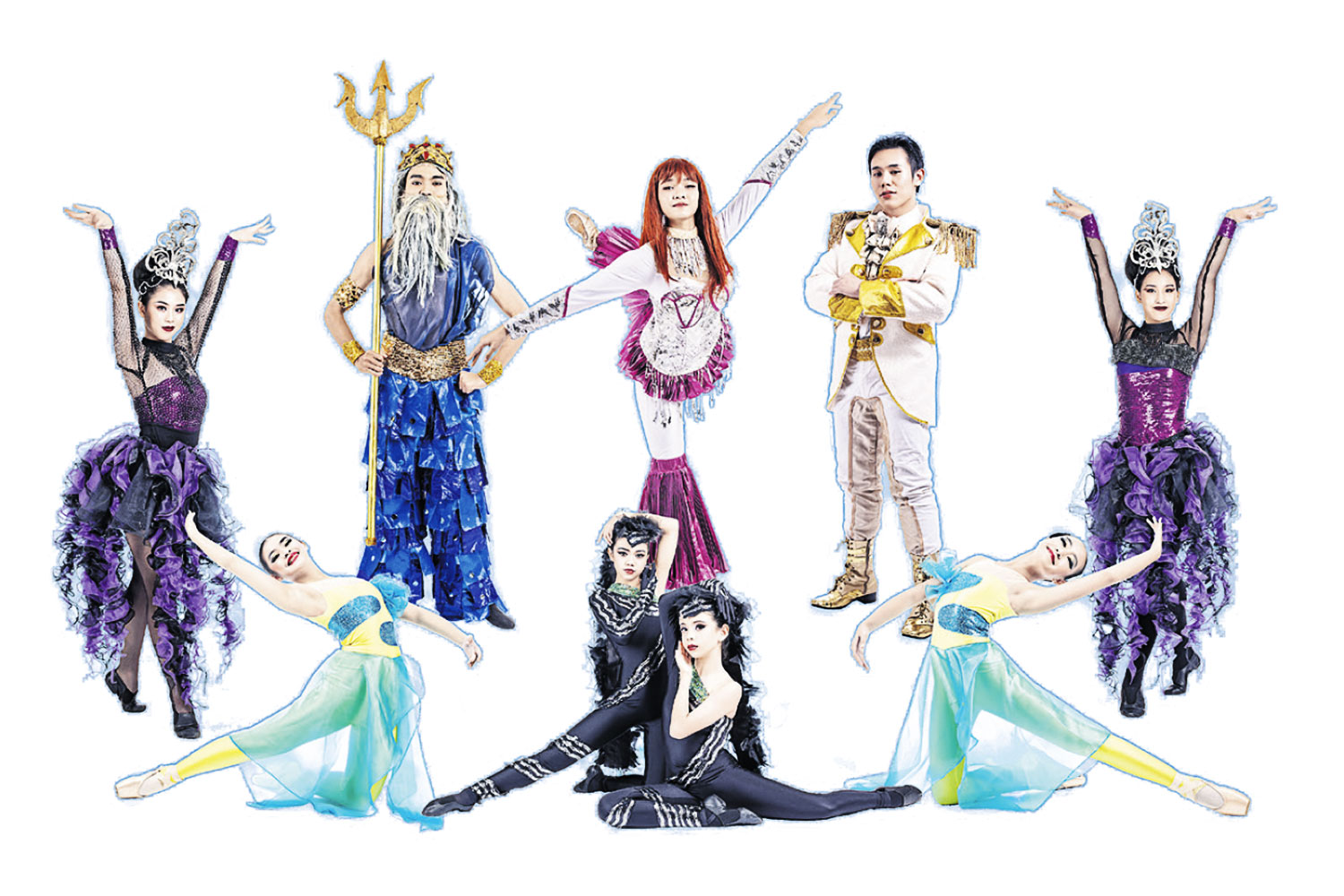 Classic fairy tale comes to life through kid dancers
