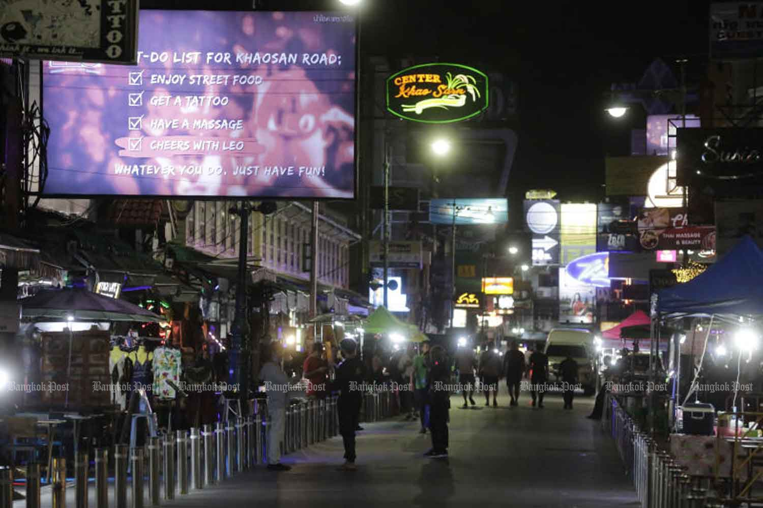 Khao San Road plans to reveal its new look from Oct 30-31 with the 'Sawasdee Khao San' tourism activities. (Photo by Pornprom Satrabhaya)